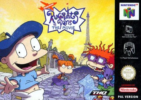 Rugrats in Paris the movie - Nintendo 64 - PAL (Rugrats In Paris)