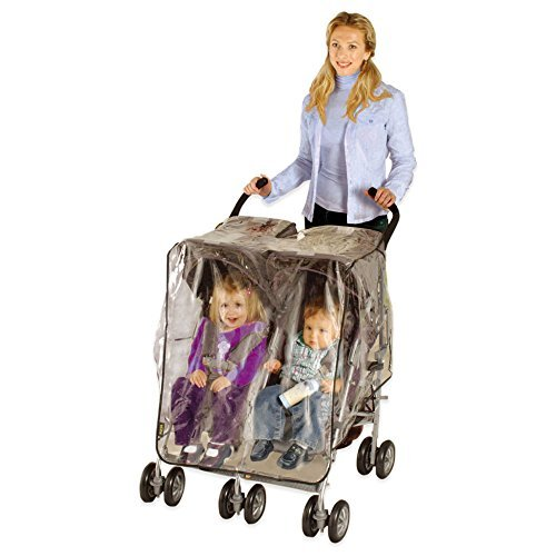 ESPECIALLY FOR BABY STROLLER WEATHER SHIELD - SIDE BY SIDE BY ESPECIALLY FOR BABY