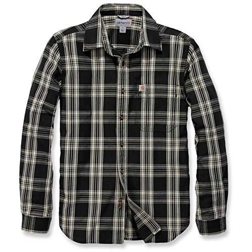 Carhartt Essential Open Collar L/S Shirt Plaid - Freizeithemd - Baumwoll-plaid Arbeitshemd