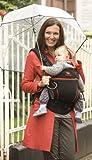 Manduca Baby und Kindertrage, Black Line Radical Red, Bauch, Rücken und Hüfttrage, 100% BIO Baumwolle - 5