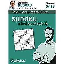 Stefan Heine: Sudoku mittel bis schwierig 2019: Tagesabreißkalender