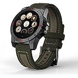 Silikon Uhrenband Watch,Outdoor Sports Smartwatch Mit Pulsmesser Und Kompass-Wasserdichte Uhr Höhenmesser Barometer Chronograph Outdoor-Uhr