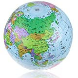 40 cm aufblasbare Weltkugelkarte Ballon Strand Ball Lehrer Geographie Spielzeug