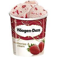 Häagen-Dazs - Strawberries & Cream Eiscreme Speiseeis - 500ml