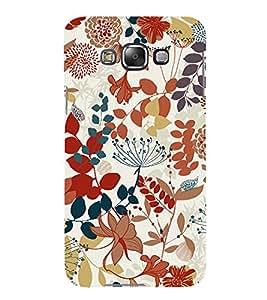 Fuson Premium Printed Hard Plastic Back Case Cover for Samsung Galaxy E5