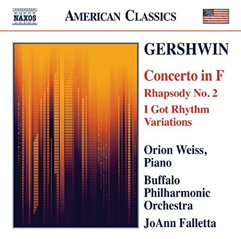 Gershwin: Concerto in F; Rhapsody No. 2 / I Got Rhythm Variations by Orion Weiss (2012-02-16)