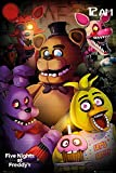 Poster Five Night's at Freddy's - Let's Eat!!! [Personnages] (61cm x 91,5cm)