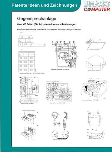 Gegensprechanlage, über 900 Seiten (DIN A4) patente Ideen und Zeichnungen