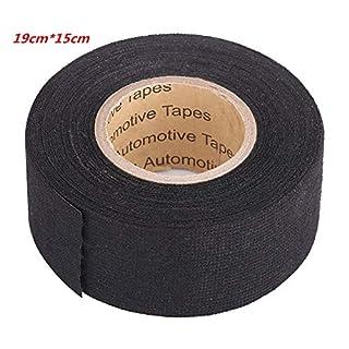 Car Multipurpose Self Adhesive Anti Squeak Rattle Felt Automotive Wiring Harness Tape (Color : 19mm*15m)