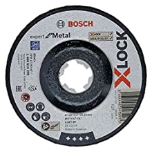 Bosch Professional 2608619259 Disque Abrasif à Moyeu Déporté Expert for Metal (pour les Métaux, X-LOCK, Ø 125 mm, Alésage : 22,23 mm, Épaisseur : 6 mm)