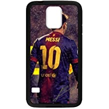 Messi Samsung Galaxy S5 Case Popular Barcelona FC Messi Protective Phone Case (Laser Technology)