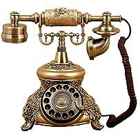 HGJSMN Telefoni Tasto della Casa Telefono Vintage Telefono Antico Telefono Fisso Fisso Retro Telefono Fisso Antico