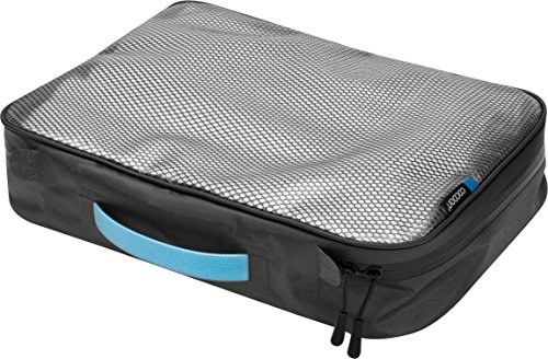 Cocoon Packing Cube with Laminated Net Top Black