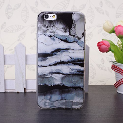 JIALUN-Telefon Fall 5SE, 6 s, 6 s Plus fall, bunte marmor muster TPU weichen fall gummi silikon haut abdeckung fall für 5SE, 6 s, 6 s Plus ( Color : 9 , Size : 6s Plus ) 4