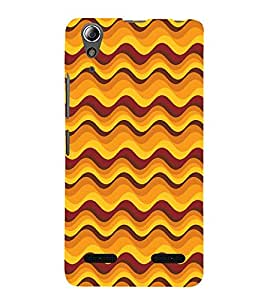 Abstract Painting 3D Hard Polycarbonate Designer Back Case Cover for Lenovo A6000 Plus