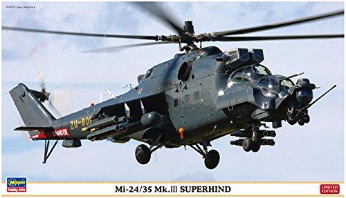"Preisvergleich Produktbild Hasegawa ha2209Maßstab: 1: 72""mi-24/35MK. III superhind"" Modellbau Kits"