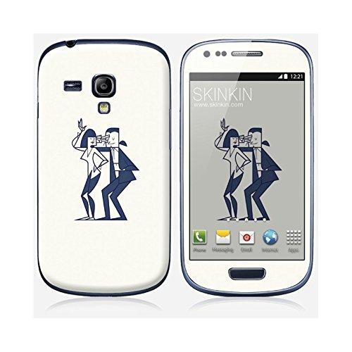 Sticker iPhone 6 et 6S de chez Skinkin - Design original : Shut up and dance par Ale Giorgini Skin Samsung Galaxy S3 mini