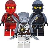LEGO Ninjago 3er Figurenset - Cole, Kai und Zane (Tag der Erinnerungen) - in Geschenkbox
