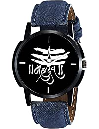 Scarter Mahadev Black Dial Analog Watch For Boys And Men-MH-Black-8