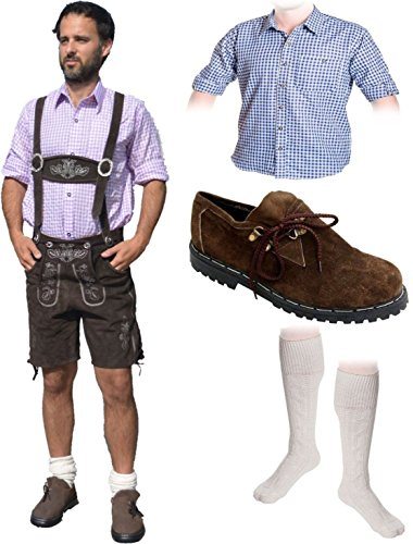 Herren Trachten Set A 5-teilig Trachten Lederhose *, gebraucht gebraucht kaufen  Wird an jeden Ort in Deutschland
