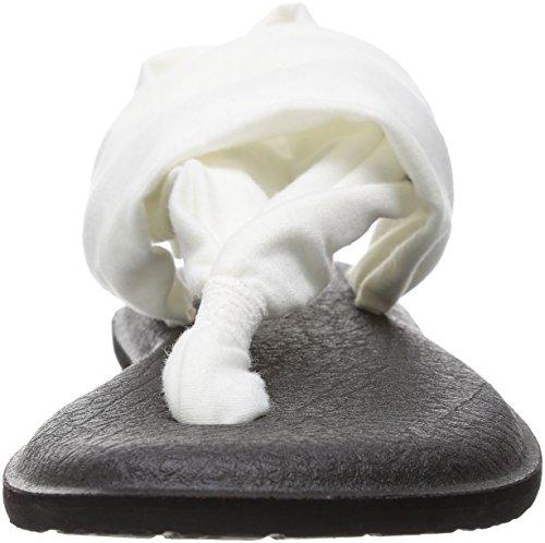 bianco Xx Bianco Sling Femme Sanuk 2 Yoga Noir Pinze 85Yq0R
