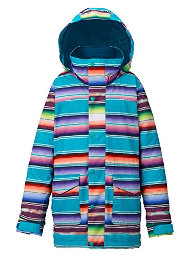 Burton Mädchen Elstar Parka Jacket Snowboardjacke, Mijita Stripe, XS