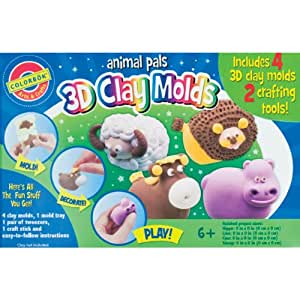 3D Clay Molds-Animal Pals