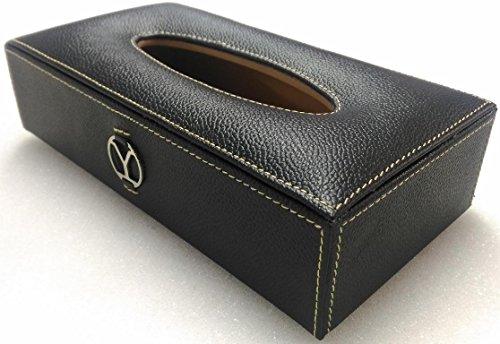 ystore genuine leather car tissue box-black Ystore Genuine Leather Car Tissue Box-Black 51ECV0ADazL