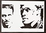 moreno-mata Fight Club Handmade Street Art - Artwork - Poster