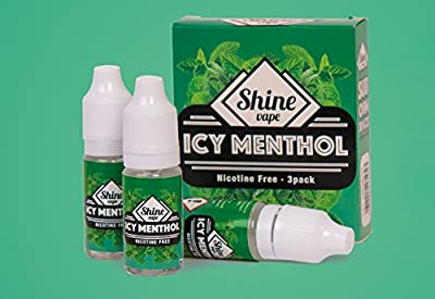 Shine Vape E-Liquid Vape Juice 30ml 3x10ML Eliquid Refills No Nicotine For Ecig Electronic Cigarettes Shisha Preminum High Grade VG PG 80 20 zero nicotine by S&S