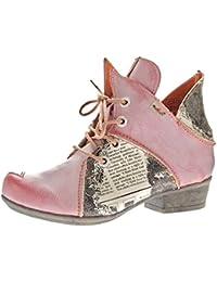 stahl-moden - botines de caño bajo Mujer , color gris, talla 36 EU