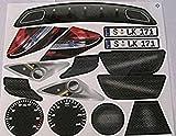 Big Bobby Car Stickers SLK Mercedes Benz inkl. Sterne