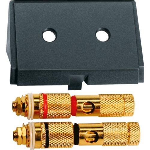 Merten 464387 Einschub mit High-End Lautsprecher-Steckv, schwarz, System M, System Fläche