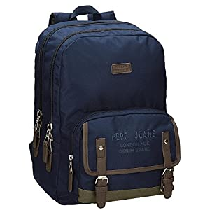 51ECaIb7HGL. SS300  - Pepe Jeans Alber Mochila Escolar, 42 cm, 19.44 litros, Multicolor