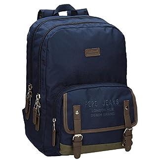 51ECaIb7HGL. SS324  - Pepe Jeans Alber Mochila Escolar, 42 cm, 19.44 litros
