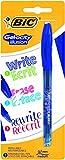 BIC Gelocity Illusion Penna Cancellabile, Confezione da 1 Pezzo, Blu