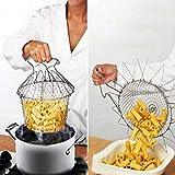 Humidifiers Accessories Best Deals - aliciashouse pieghevole vapore SciAcquare Strain Fry Chef cestello netto da cucina strumento