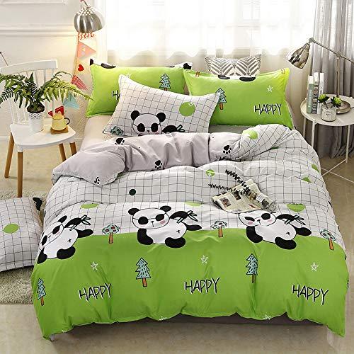 Kinder Einzelbett Doppelbett, Bettwäsche Bettbezug, Schule niedlichen Cartoon drei oder vier Stück Set niedlichen coolen FR-King