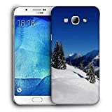 Snoogg Jammu Place Printed Protective Phone Back Case Cover For Samsung Galaxy A8