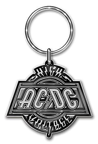 ACDC High Voltage Keychain