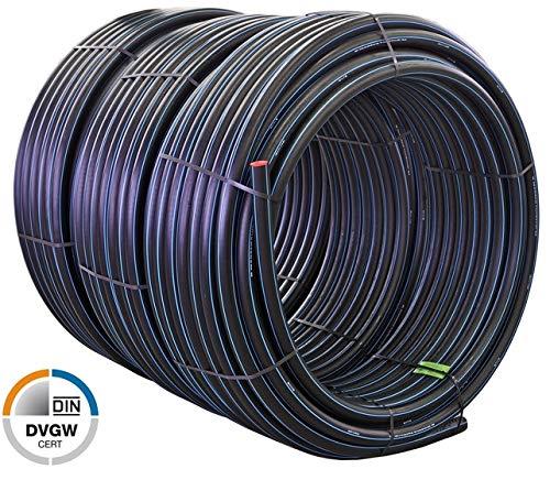 25 m Quarzflex® PE Rohr 25 x 2,3 mm Trinkwasser PN16 DVGW