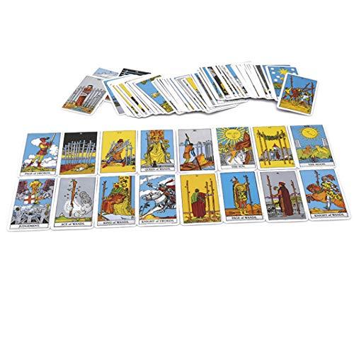 ch Radiant Rider Warten Tarot-Karten Fabrik gemacht hochwertige Smith Tarot Deck Board Spielkarten (Color1) ()