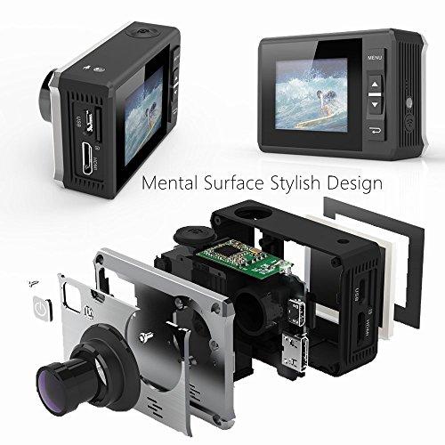ThiEYE I30 Sport DV cámara de acción 1080 P 12MP 155° gran angular de 40 M a prueba de agua la cámara DVR, color - I30-Schwarz