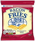 Smiths Savoury Selection Bacon Flavour Fries, Cereal Snacks 24 g (Pack of 24)