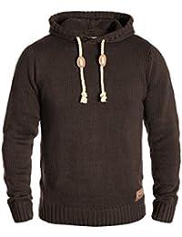 SOLID Pitu - Sweat à capuche en tricot- Homme