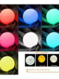 3D Print Moon LED Lamp Touch Switchs or 16 Colors Remote Control Brightness Adjustable with Wooden Stand 3 Lamp Types 5.1 inch SPPYY