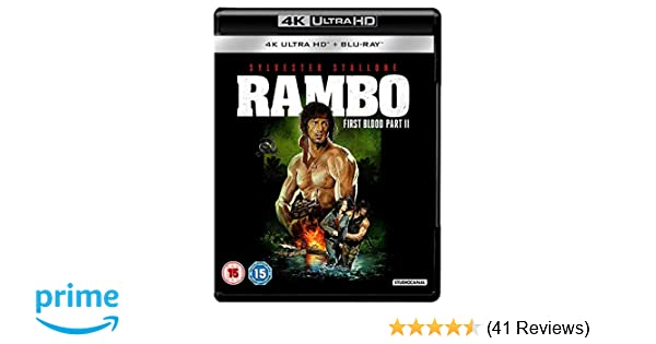 Rambo: First Blood Part II 4K [Blu-ray] [2018]: Amazon co uk