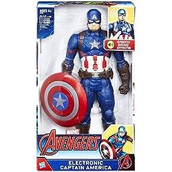 Avengers Figura electrónica del Capitán America (Hasbro C2163EU4)