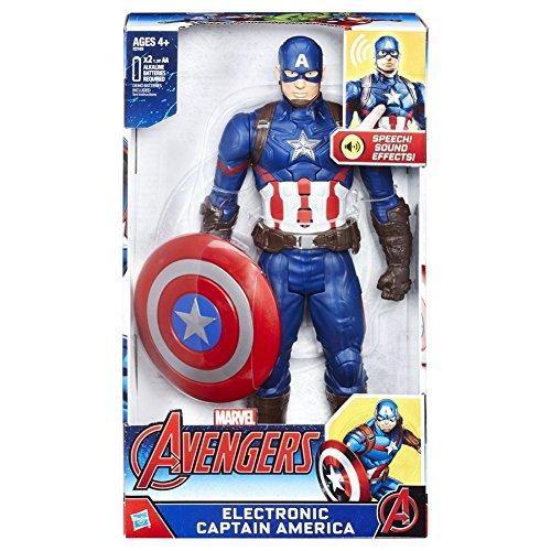 Avengers - Figura electrónica del Capitán America (Hasbro C2163EU4)