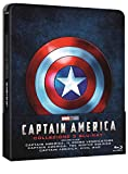 Locandina Captain America Trilogia Steelbook (Limited Edition) (3 Blu Ray)